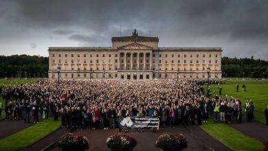 Photo of Peste 20.000 de nord-irlandezi au participat la Marșul pentru Viața Lor în semn de protest față de decizia parlamentului britanic de a impune legalizarea avortului în Irlanda de Nord