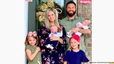 Photo of S-au luptat 5 ani cu infertilitatea, au devenit părinți sociali, au adoptat 2 fete gemene și au dat naștere la gemeni