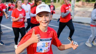 Photo of Misiunea Socială Diaconia a Mitropoliei Basarabiei a organizat Cursa Bunătății, la care au participat 40 de familii, în cadrul Maratonului Internațional Chişinău, cursa Fun Run