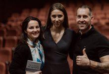 """Photo of VIDEO integral. Adelina Fronea și Rob Kowalski au lansat la Cluj cartea """"De ce merită să aștepți"""", iar Ioana Picoș a jucat în piesa pro-viață """"În loc de discurs"""""""
