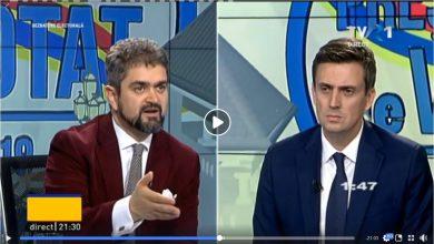 Photo of VIDEO. Cătălin Ivan îl provoacă pe Theodor Paleologu să admită că susține parteneriatul civil / Dezbatere la TVR 1