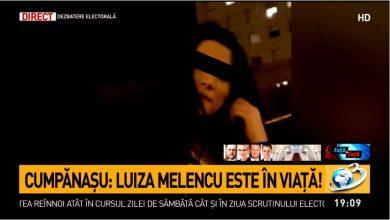 Photo of ACTUALIZARE. Luiza Melencu este în viață. Părinții au recunoscut-o în fotografii și filmări recente făcute în afara țării