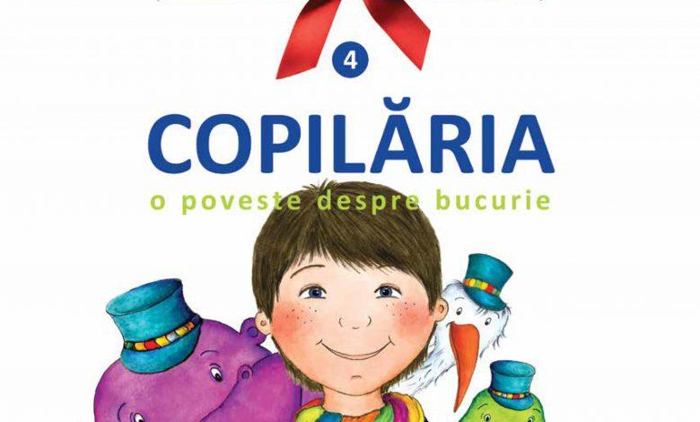 """Photo of Alexandra Mihailciuc recomandă """"Copilăria. O poveste despre bucurie"""". Ajută la tipărirea cărții pe care vrei sa o citești copiilor tăi!"""