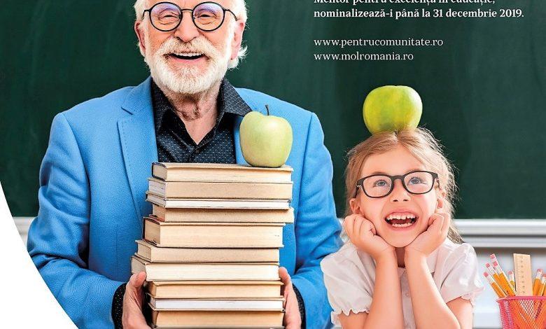 Photo of MOL România premiază profesorii: Trimite nominalizarea ta la Premiul Mentor pentru excelență în educație