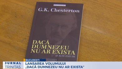"""Photo of Lansarea volumului """"Dacă Dumnezeu nu ar exista"""", de G.K. Chesterton, în traducerea lui Cătălin Sturza"""