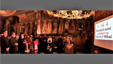 Photo of Mitropolitul Iosif și Mitropolitul Serafim au vorbit despre copiii Smicală la concertele de colinde dedicate acestora de românii din Nürnberg și Paris