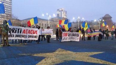 """Photo of FOTO, VIDEO. Protest pentru COPIII SMICALĂ la București: """"Pe copiii sechestrați noi îi vrem repatriați!"""""""