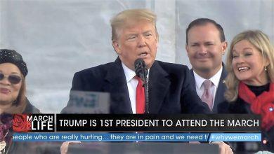 """Photo of Donald Trump la Marșul pentru viață: """"Când vedem imaginea unui copil în pântece, surprindem măreția Creației lui Dumnezeu"""" / Discursul integral"""