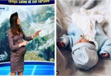 """Photo of """"Mulțumesc, viață!"""" A născut prezentatoarea româncă jignită de unii din telespectatorii belgieni pentru că apărea """"prea însărcinată"""" pe ecran"""