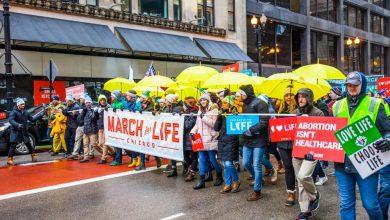 Photo of Număr record de participanți la Marșul pentru viață Chicago 2020