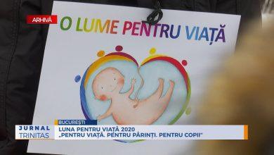"""Photo of VIDEO. Luna pentru viață 2020 """"Pentru viață. Pentru părinți. Pentru copii"""" la București"""
