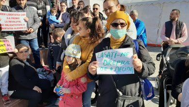 Photo of FOTO. ACUM la FOCȘANI: Protest împotriva obligativității vaccinării