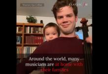 Photo of VIDEO emoționant: Ce fac muzicienii atunci când stau acasă cu copiii?