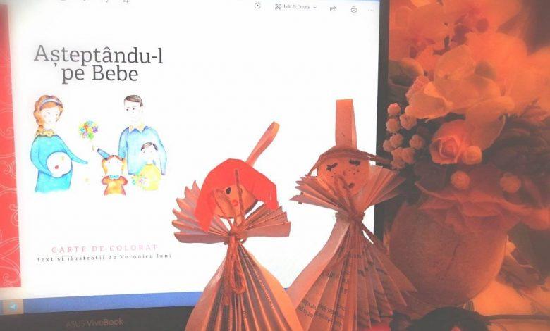 Photo of Ioana Revnic organizează ateliere de povești pentru copii pe Skype