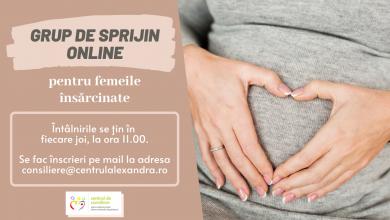 Photo of Grup de sprijin online pentru femeile însărcinate organizat de Centrul Sf. Alexandra