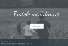 Photo of VIDEO. Fratelemeudincer.ro, site pentru părinții care au pierdut un copil la naștere sau înainte de aceasta