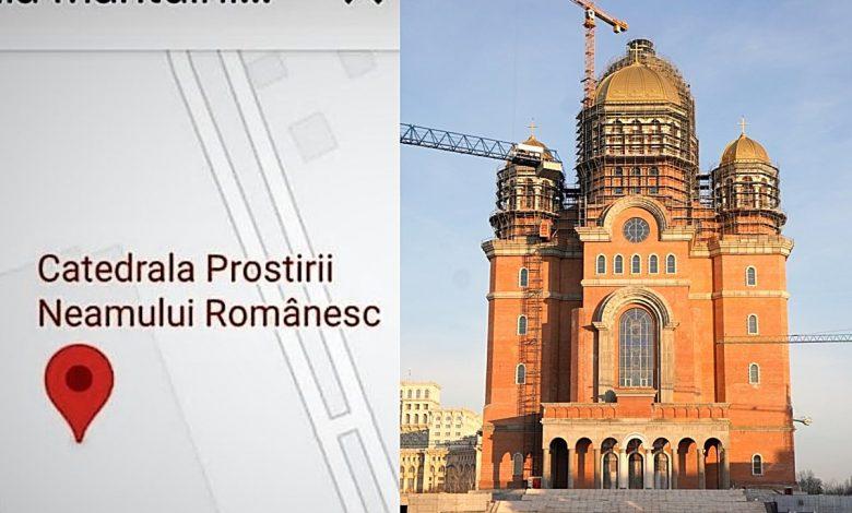 """Photo of Reacții virulente la schimbarea numelui Catedralei Naționale pe Google Maps Android în """"Catedrala Prostirii Neamului"""""""