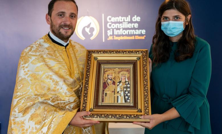 Photo of Centrul Sf. Împărăteasă Elena a fost inaungurat duminică la București. Patriarhul Daniel a donat o icoană și 30.000 lei